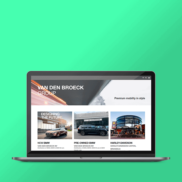 BMW Van Den Broeck Group website