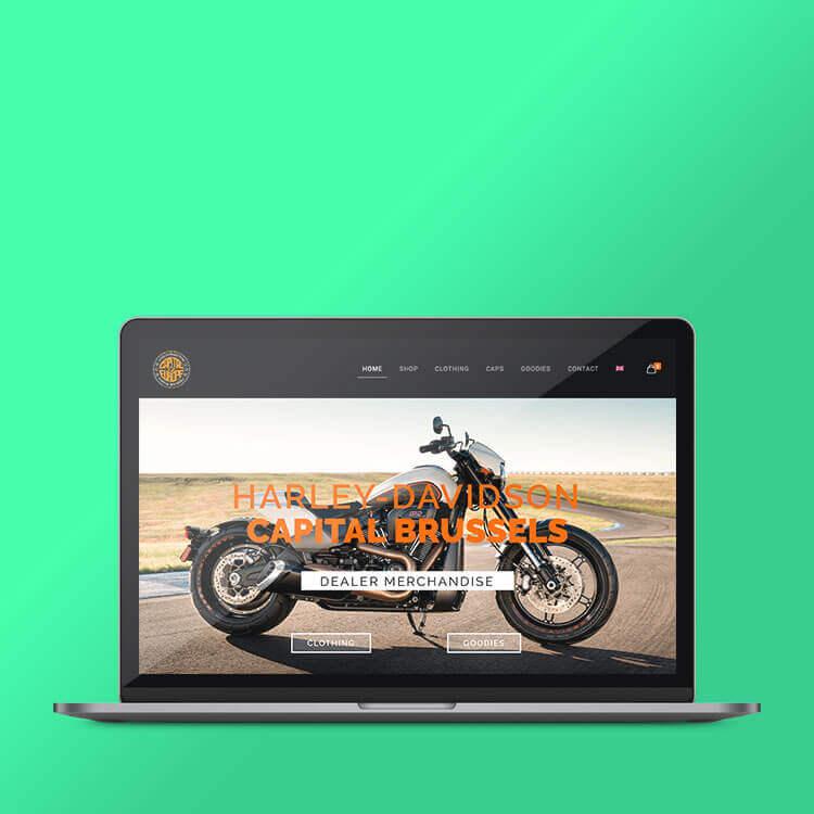 Harley Davidson Dilbeek webshop